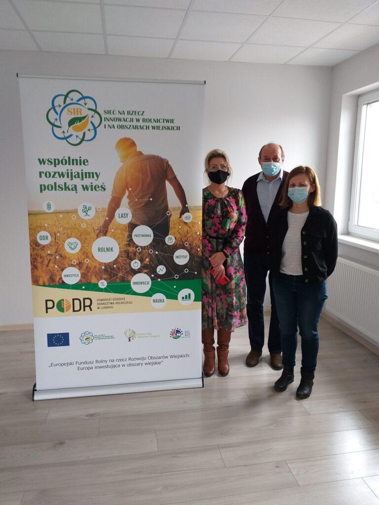 """Spotkanie organizowane w ramach operacji pn. """"Pomorskie partnerstwa do spraw wody"""" w zakresie Sieci na rzecz innowacji w rolnictwie i na obszarach wiejskich"""
