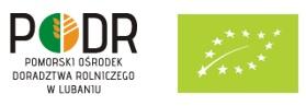 Logotyp PODR i żywności ekologicznej