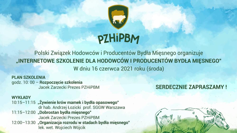 Zaproszenie na Internetowe szkolenie dla hodowców i producentów bydła mięsnego-miniatura