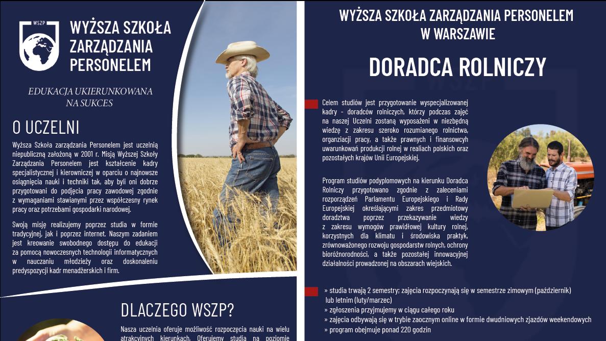 Rolnictwo studia podyplomowe - miniatura