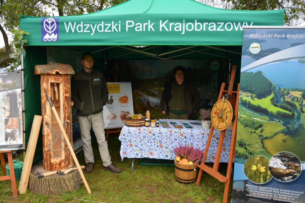 Na stoisku Wdzydzkiego Parku Krajobrazowego