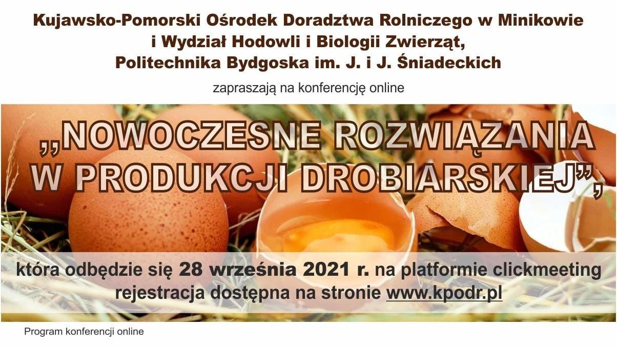 Konferencja - Nowoczesne rozwiązania w produkcji drobiarskiej - miniatura