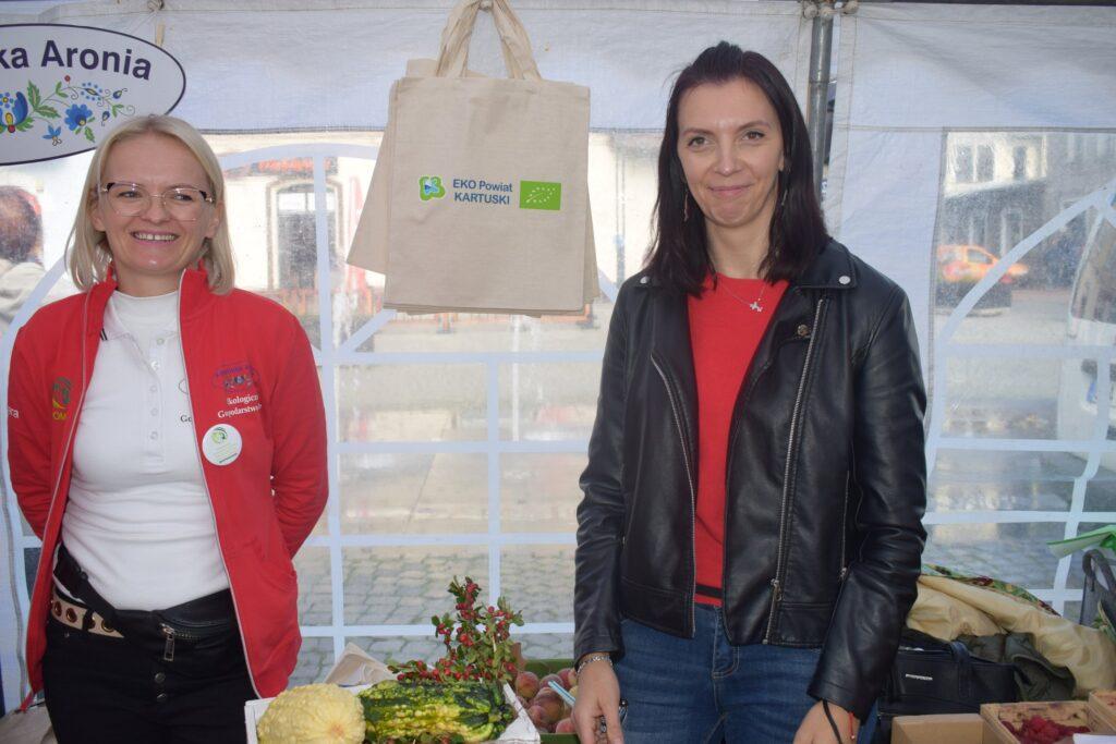 producentki eko - od lewej Barbara Lis i Urszula Bloch