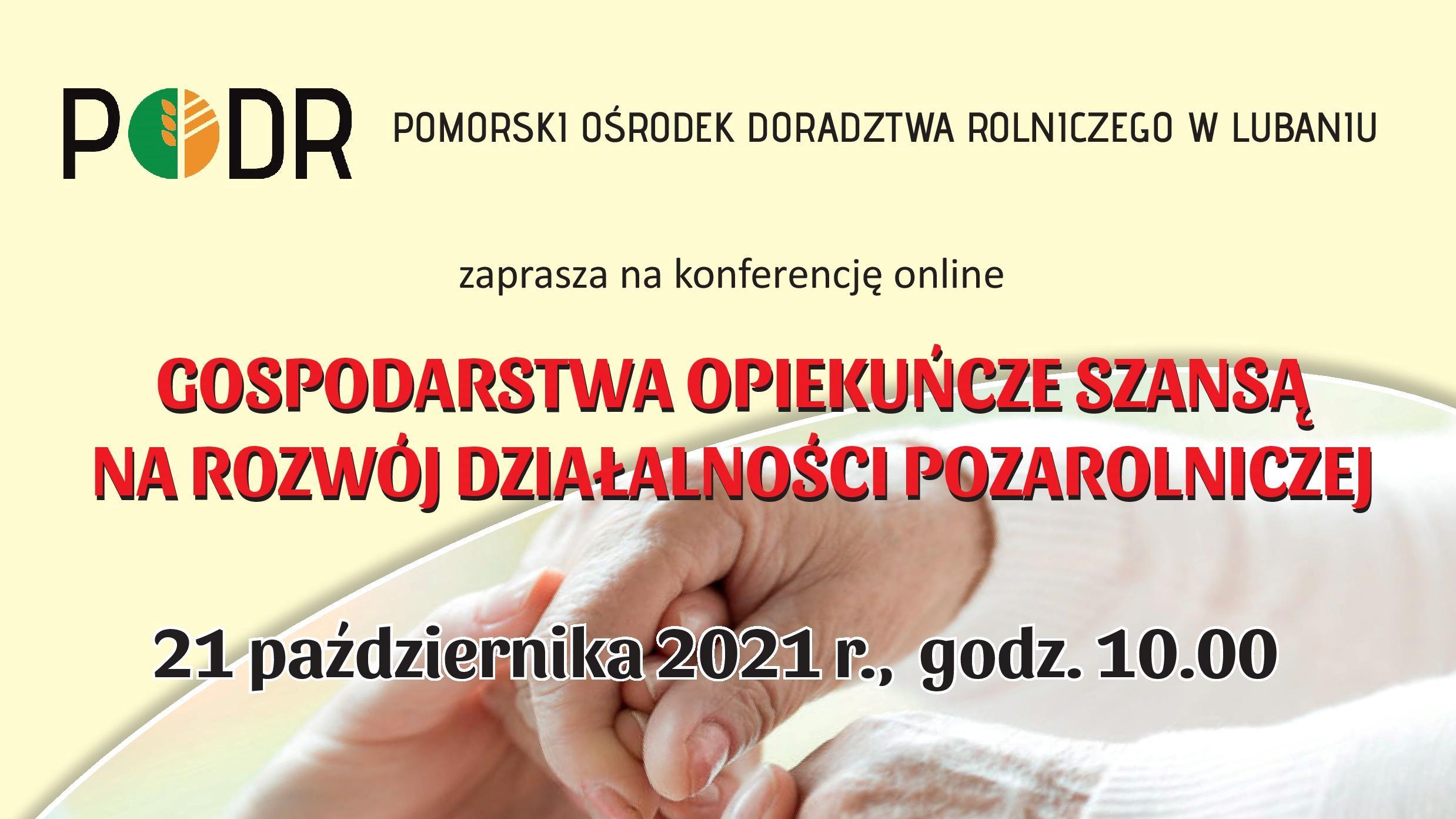 Gospodarstwa opiekuńcze szansą na rozwój działalności pozarolniczej - miniatura
