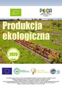 Produkcja ekologiczna - okładka broszury