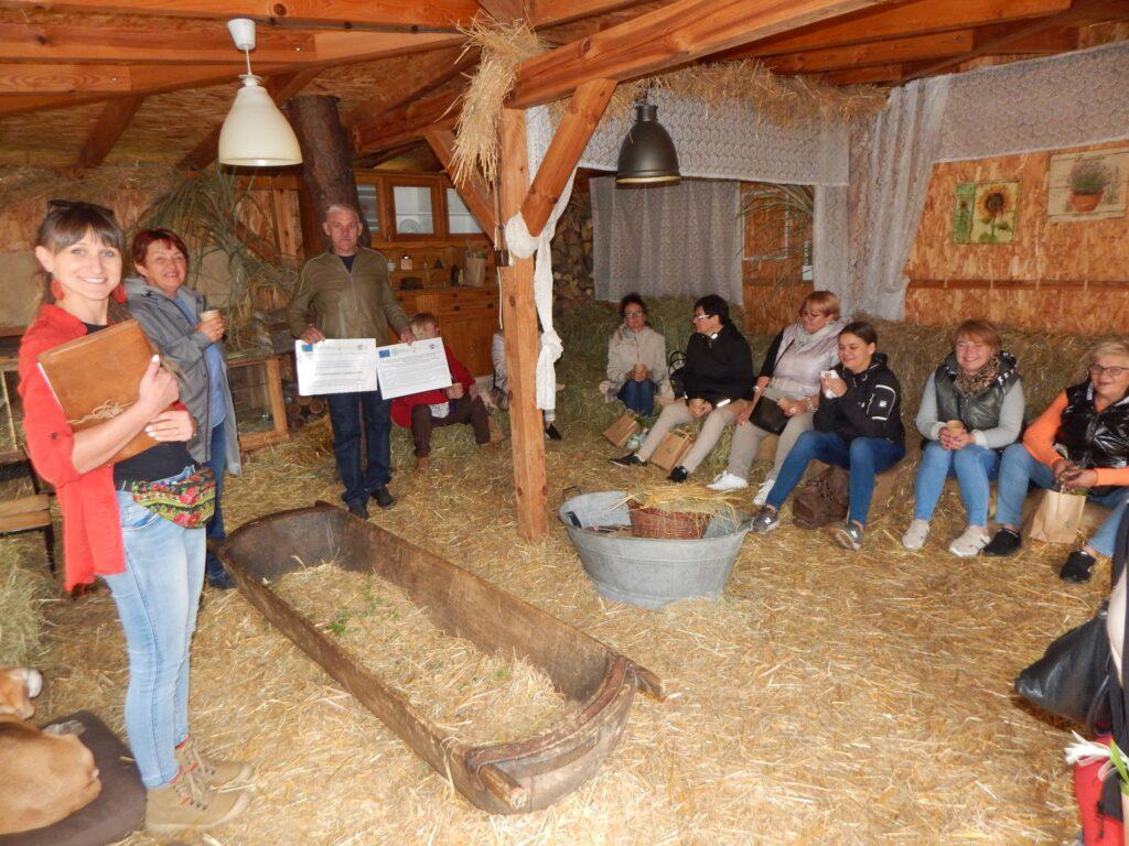 Wizyta w Zagrodzie i Ogrodnictwie Niezłe Ziółka